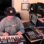 [VIDEO] Hip Hop Beat Making using Ableton Live, MPK 49, & MPD 32 (prod. by TCustomz)