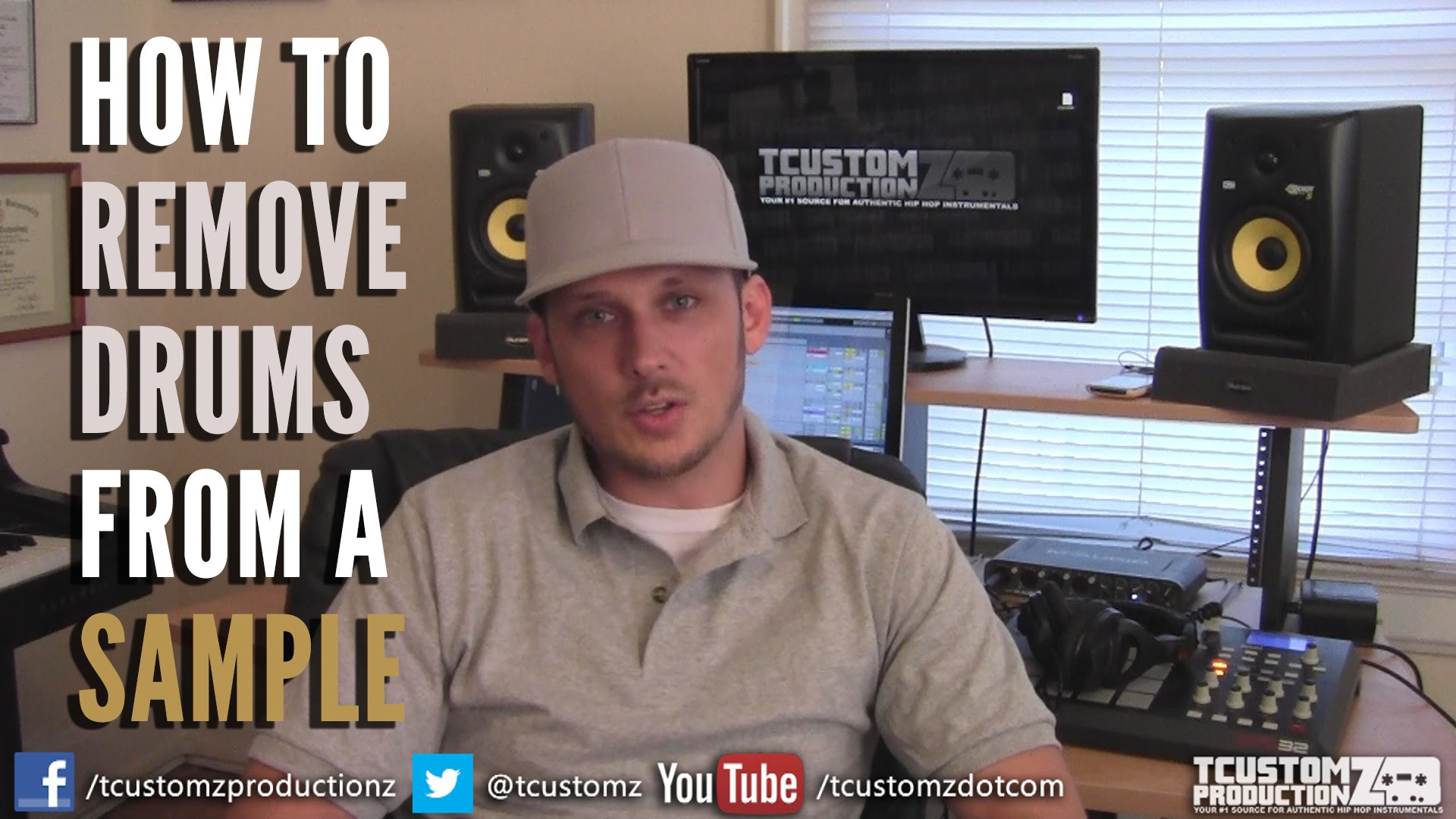 4 Tips: HOW TO Remove Drums From a Sample | Sampling
