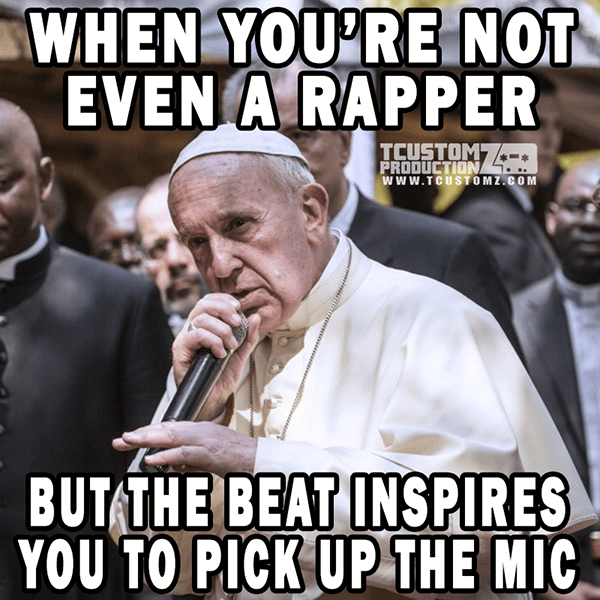 when not rapper beat inspires you pick up mic 17 funny music producer memes! (pics, videos & gifs),Backup Funny Memes