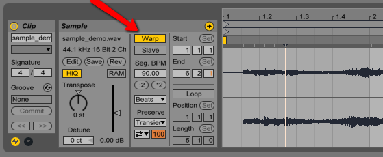 Imported WAV files sound like shit? : ableton