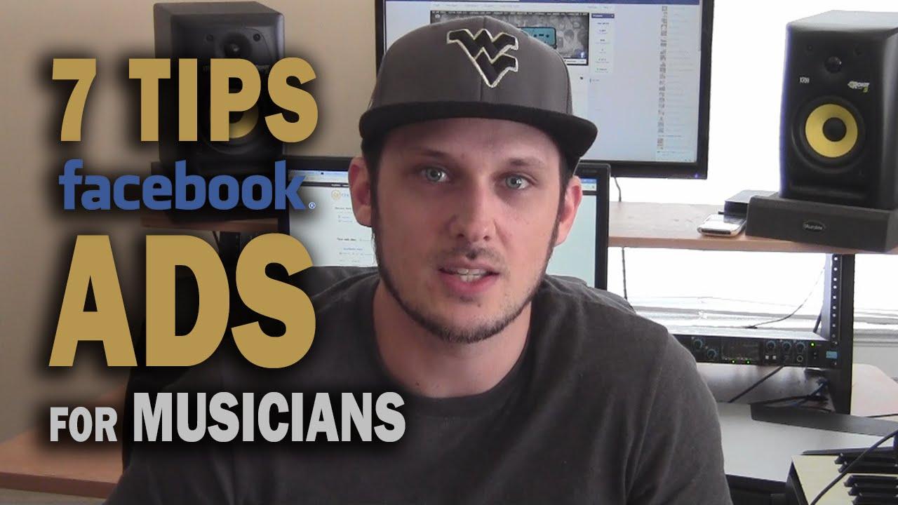 Top 7 Tips: Killer Facebook Ads for Musicians