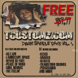 Download 2 FREE Hip Hop Beats & Drum Samples!