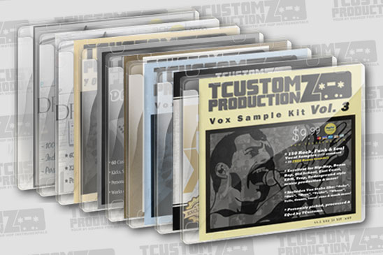 100% Custom Hip Hop SOUND KITS & SAMPLE PACKS! - TCustomz Productionz