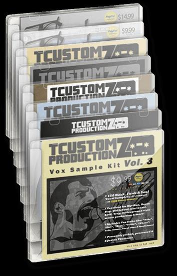 All TCustomz Sound Kits Bundle (Digital Download) ~ 36% Off!